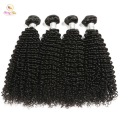 Hot Selling Kinky Curly Bundles, Free Shipping 4 Bundle Deals