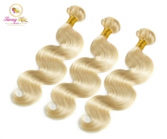 3 Bundle Deals, Russian Blonde Body Wave Hair, Can Dye to Any Color