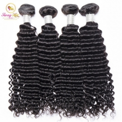 Hot Selling Deep Curly Bundles, Free Shipping 4 Bundle Deals