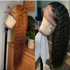 Sanny Hair Deep Curly 13*6 Human Hair Wigs with Baby Hair Brazilian Remy Hair