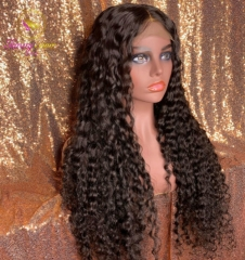 Deep Curly & Deep Wave 150% 13*6 Human Hair Wigs with Baby Hair Brazilian Remy Hair