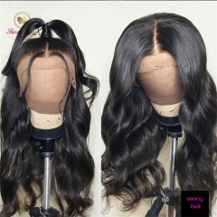 360 Frontal Wig Human Hair 150% With Baby Hair Body Wave Wig Brazilian Hair Wigs Human Virgin Hair