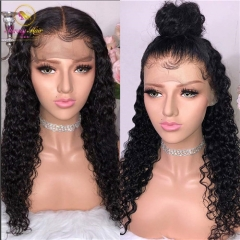 Italian Curly Human Hair 150% Density Lace Front Wigs with Baby Hair Brazilian Remy Hair